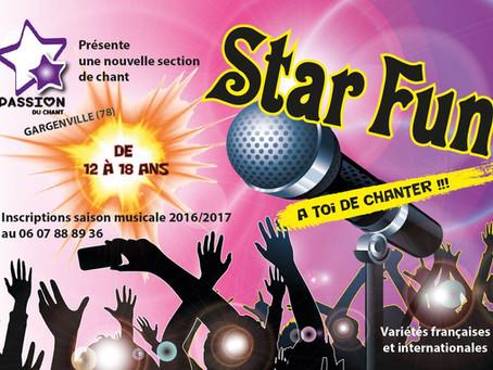 Star Fun recrute (de 12 à 16 ans)