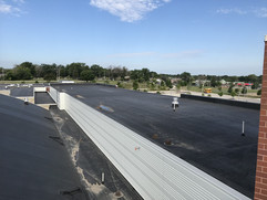 Accurate Roof Management | Commercial | back roof overview