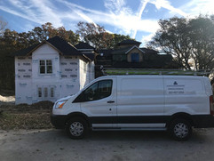 Accurate Roof Management | Residential | Service Trucks