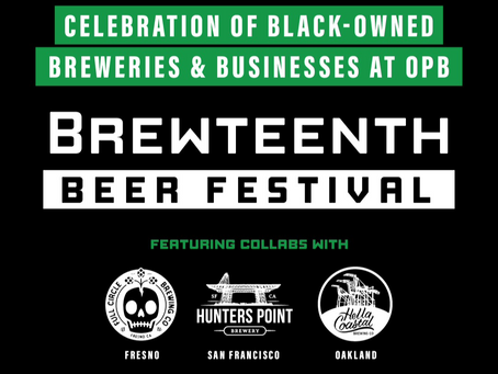 Celebrating Juneteenth at the Brewteenth Beer Festival!