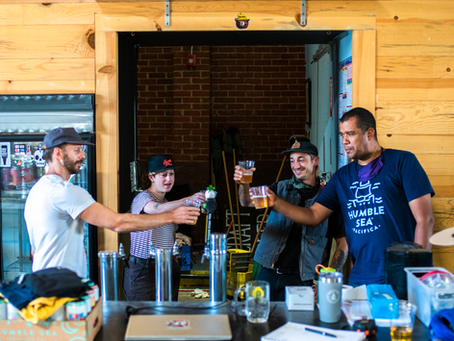 Brewery Collaborations:  Working with Humble Sea Brewing Co.