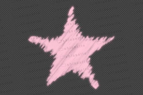 クレヨン(星)