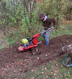 La préparation de notre plantation Boursay 2