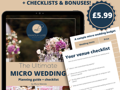 Planning a Micro Wedding? All the tips, resources you need right here!