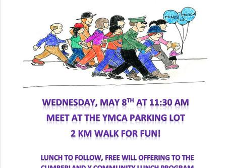 Let's Walk About It - Mental Health Awareness Walk