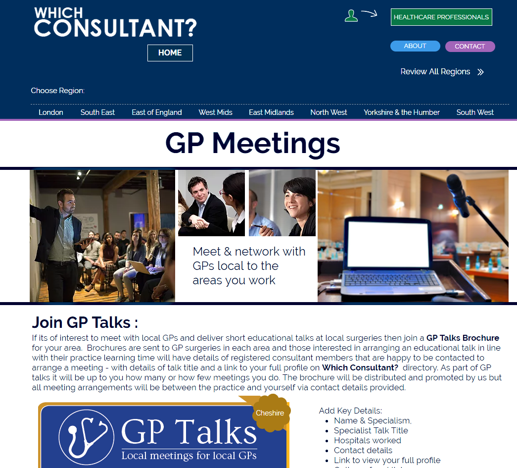 Local GP Meetings