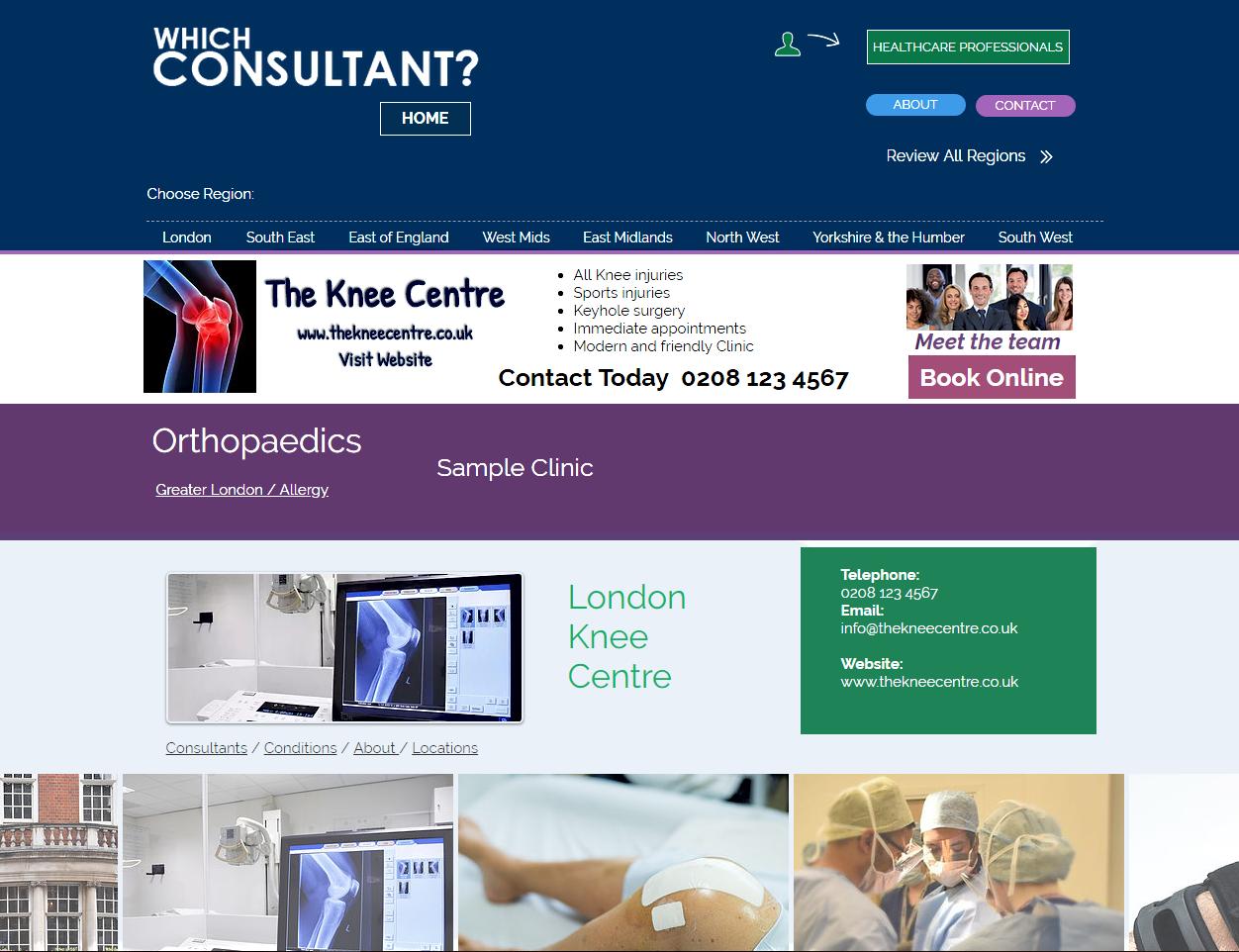 Clinic profile