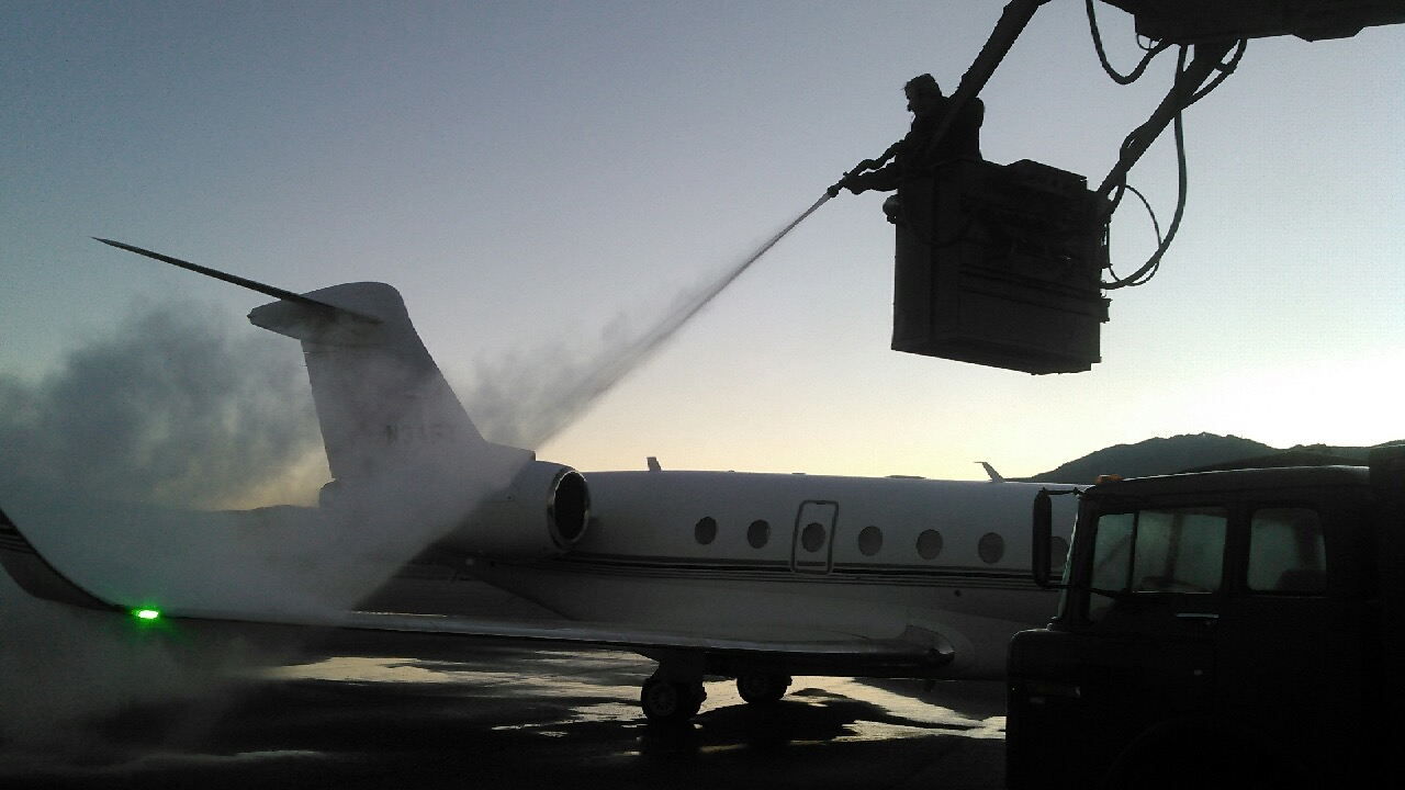 De-Icing on 4th of July