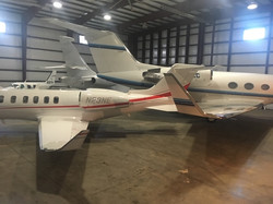 Tight squeeze in new hangar