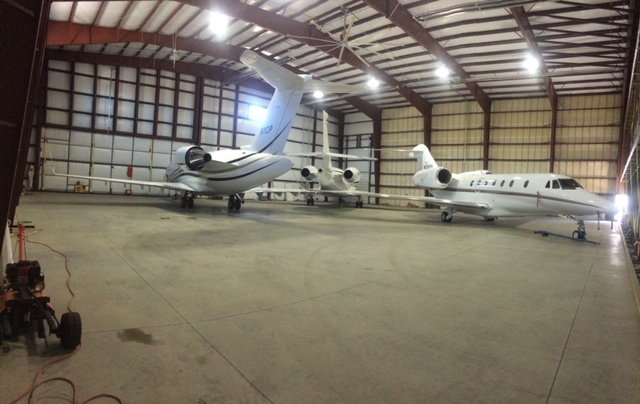 Hangar at Butte Aviation