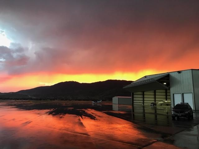 Sunrise at Butte Aviation