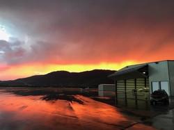 Sunrise at Butte Aviation