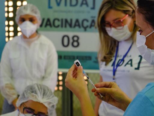 """""""Retardatários"""" preocupam Secretaria de Saúde na vacinação contra a Covid"""