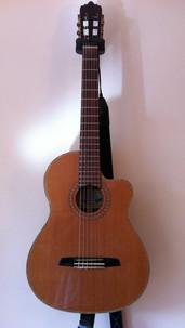 Santoz Martinez SM 675CE Electro-Acoustic Classical Guitar, 2008