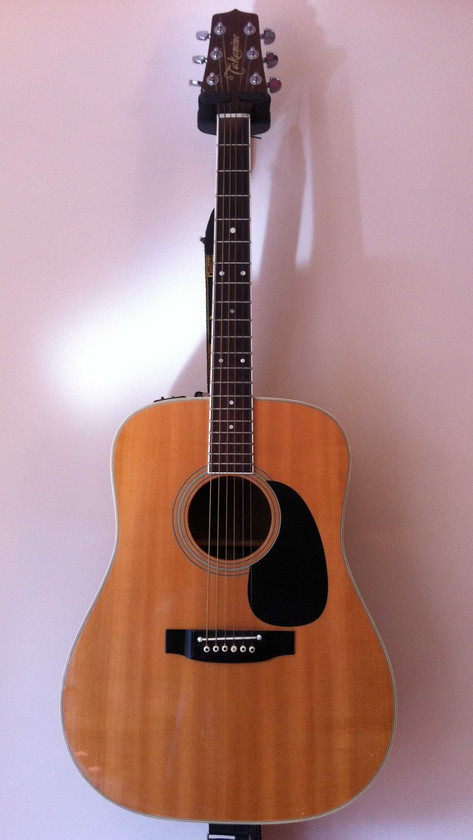 Takamine F360-S Electro-Acoustic Guitar, 1988