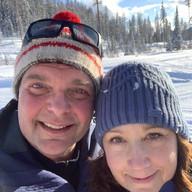 Sweetheart Ski Partner by Doug Vanhooren