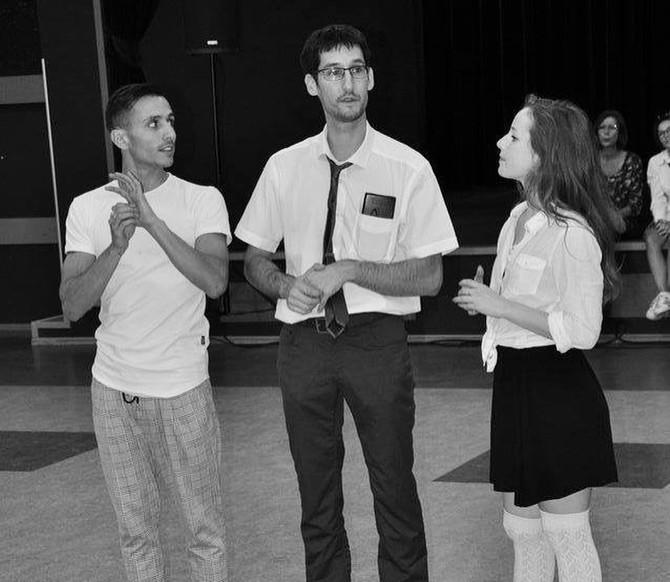 Dany, Stéphane et Iz Ou lors de la soirée Back To School Alma Danse