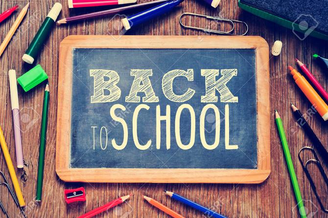 """Soirée de rentrée Alma Danse thème """"Back to school""""."""
