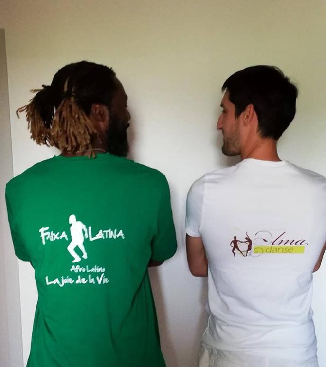 Initiations gratuites, cours et soirée SBK à la Faixa latina.