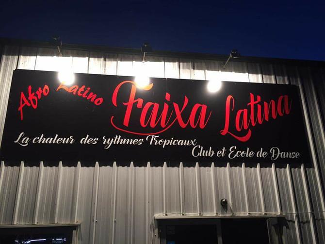 Soirée Alma Danse à la Faixa Latina, veille de jours férié le 10 Novembre.