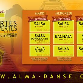 Rentrée Alma Danse saison 2021/2022