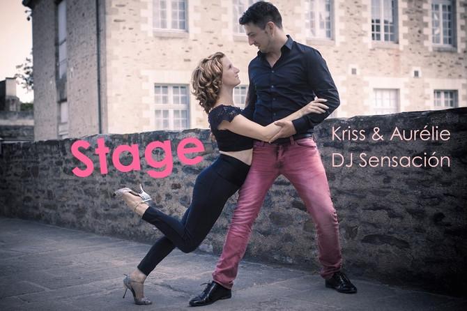 Stage/Soirée avec Kriss Aurélie et DJ Sensación