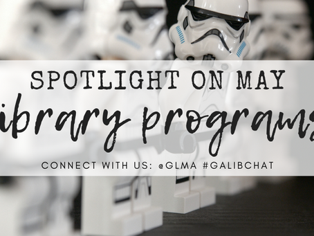 May the fourth be with you and other library program ideas for May