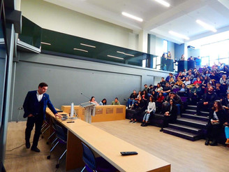 Public lecture for Student Parliament