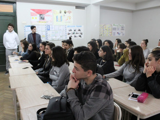 """Seminar on """"Security in US"""" at the #98 Public School"""