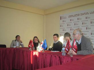 საჯარო ლექცია აღმოსავლეთ ევროპის უნივერსიტეტში