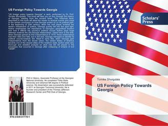 წიგნი US Foreign Policy Towards Georgia გამოიცა 2015 წელს გერმანიაში, დიუსელდორფი.