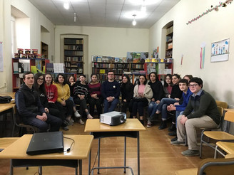 """Seminar on """"US Political Institutions"""" at the #63 Public School"""