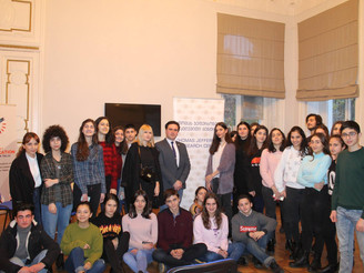 American Corner Tbilisi hosted the members of  the Thomas Jefferson Research Center