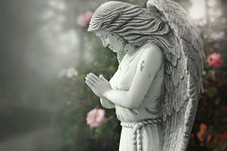 Statua anioła