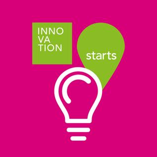 Logodesign Innovation Starts