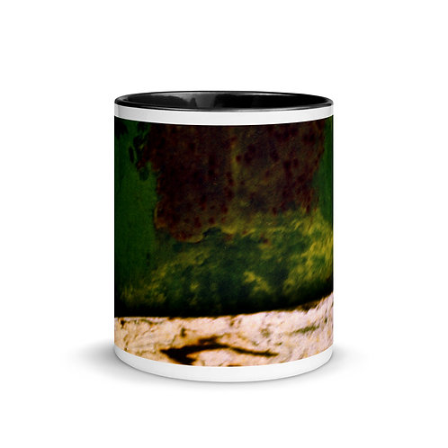 Abstract color x13 Mug with Color Inside