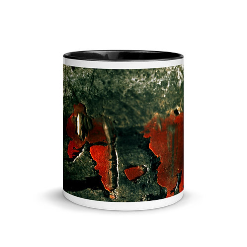 Abstract color x15 Mug with Color Inside