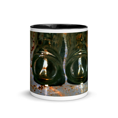 Abstract color x16 Mug with Color Inside