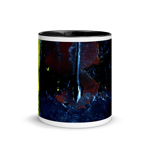 Abstract color x8. Mug with Color Inside