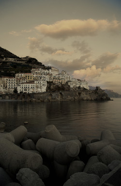Clouds over Amalfi