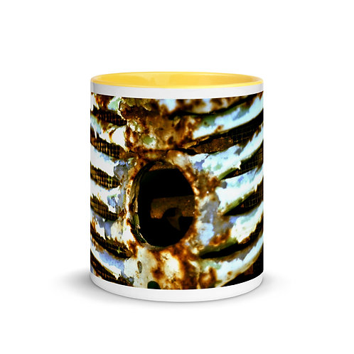 Abstract color x12 Mug with Color Inside