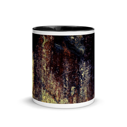 Abstract color x9 Mug with Color Inside