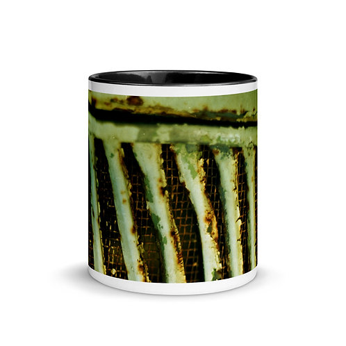 Abstract color x14 Mug with Color Inside