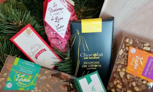Coffrets cadeaux épicerie sucrée