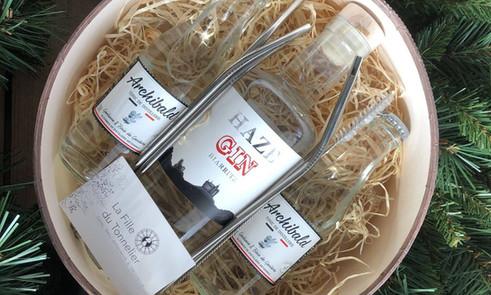 Coffret gin craft français