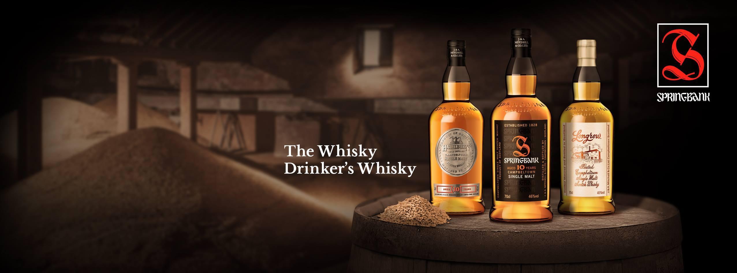 Soirée Whisky Springbank, Vendredi 20 novembre 2020