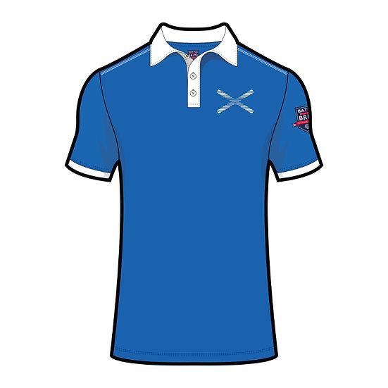 Saltire (Scotland) Mens Polo Shirt