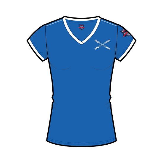 Saltire (Scotland) Womens T-Shirt