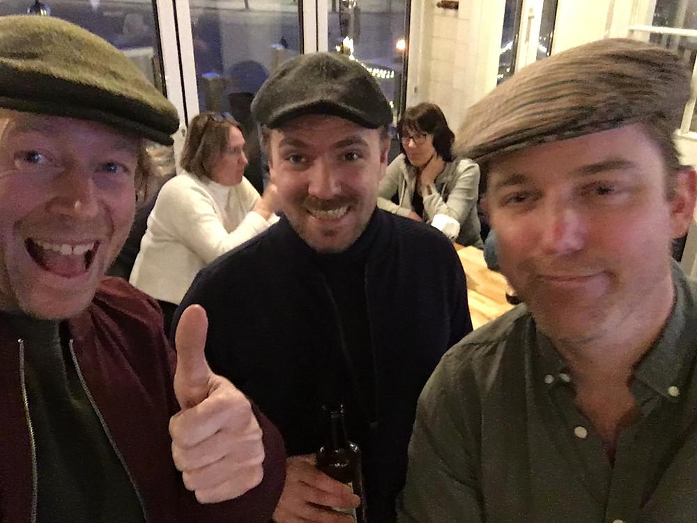 Pascal Letter, Martin Smeds, Markus Norman (left)