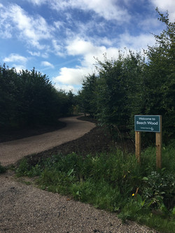 New Beech Wood entrance